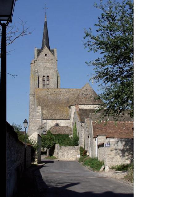 Eglise-depuis-la-rue-du-moulin