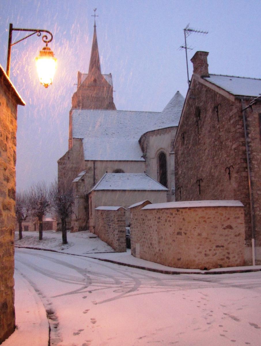 Eglise-sous-la-neige