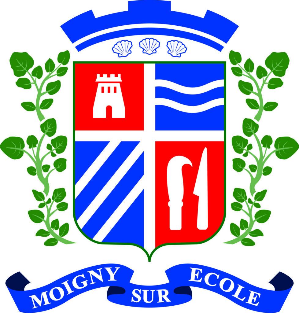 Blason Moigny-sur-école HD DEF