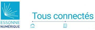 Réseaux Fibre Essonne numerique logo V2019
