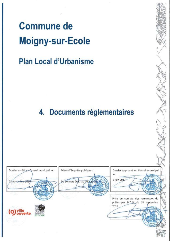 PLU-4.0 pdg Documents réglementaires dossier approuvé 18-09-2017