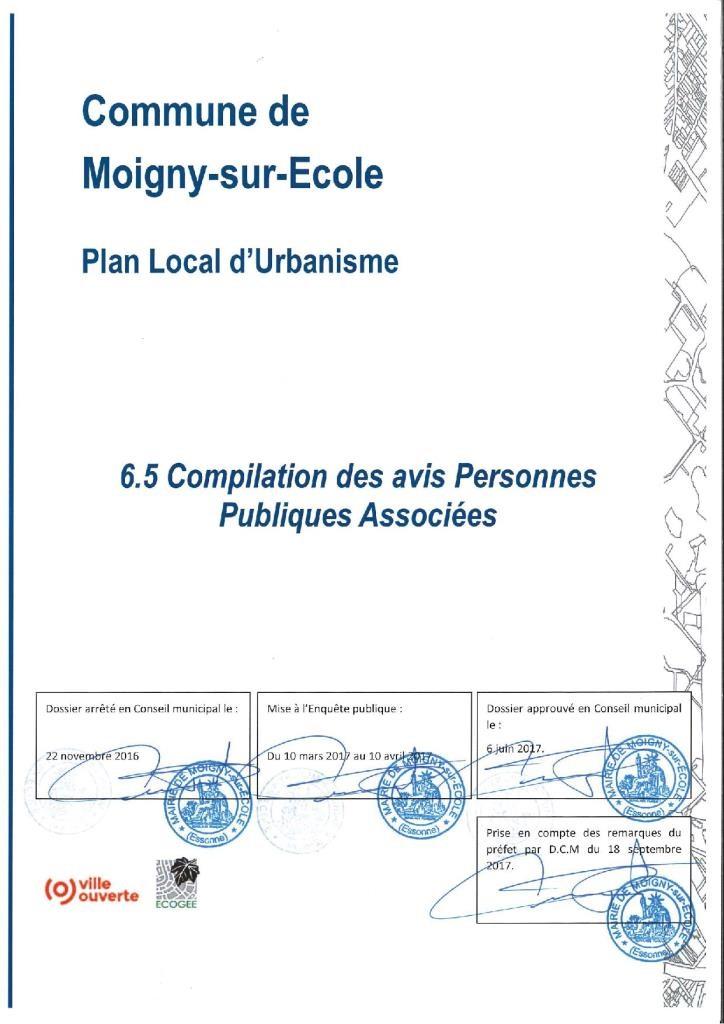 PLU-6.0.2 page de garde Bilan Concertation 6.5 dossier approuvé 18-09-2017