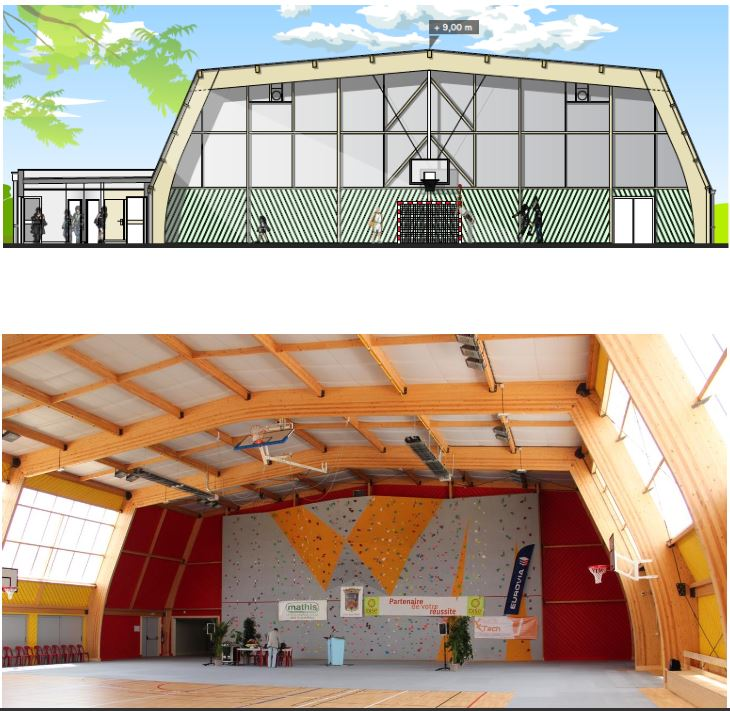 Projet du gymnase intercommunal