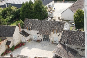 La Médiathèque La Grange vue aérienne