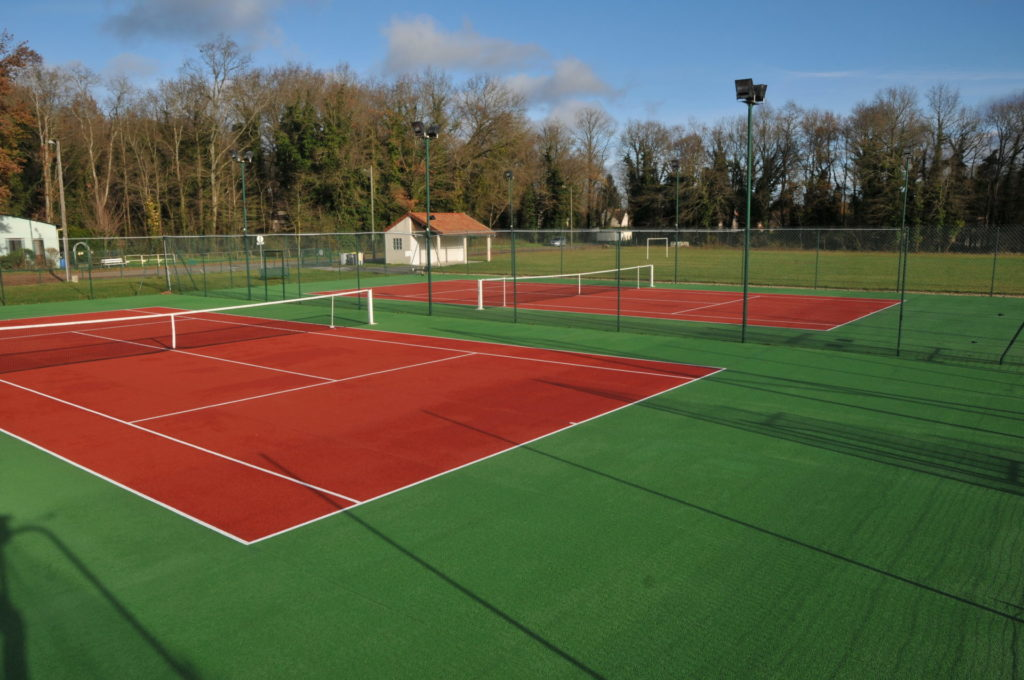 Courts de tennis photo