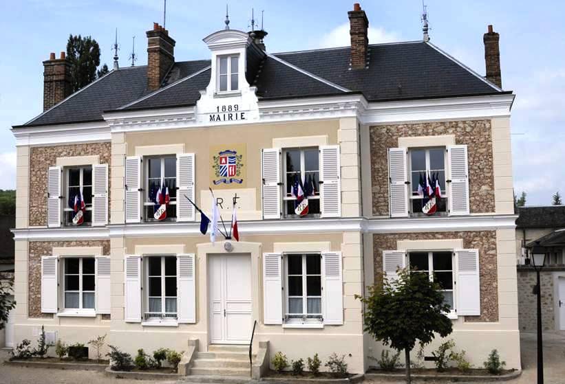 Mairie restaurée