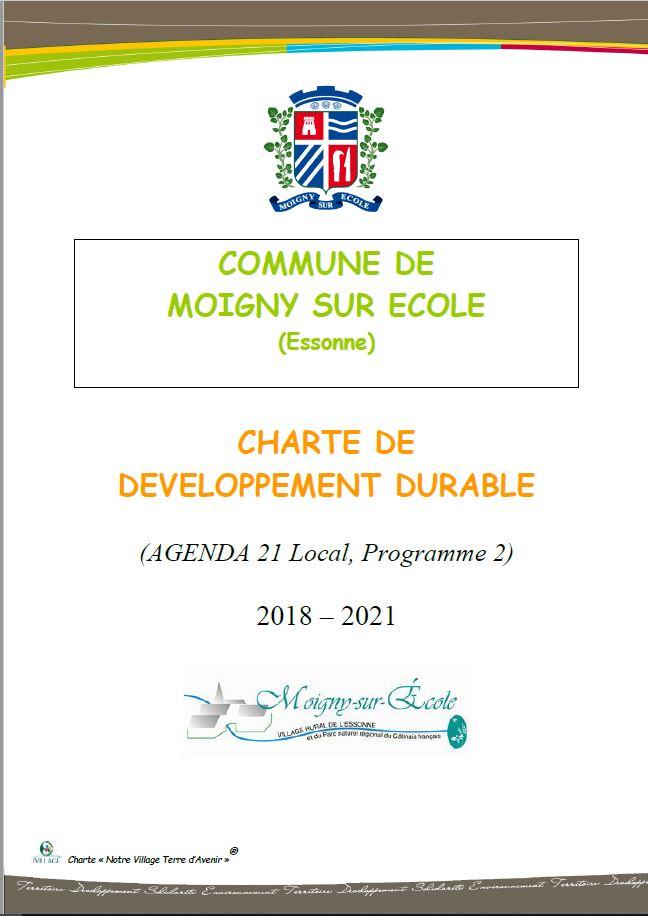 Agenda 21 Charte programme 2 couverture image