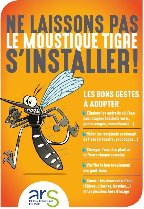 Moustique-tigre affiche