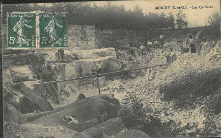 Carrière Carte postale ancienne