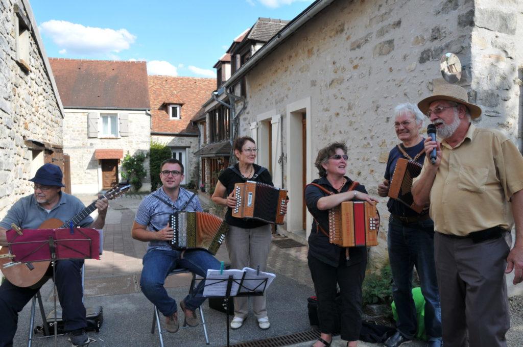 Marche rural Musiciens ambulants