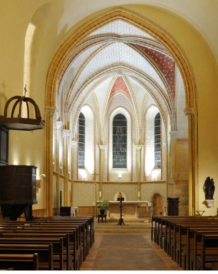 Eglise Saint-Denis intérieur