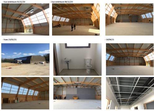 Gymnase intercommunal photo chantier V2021-04-15 2