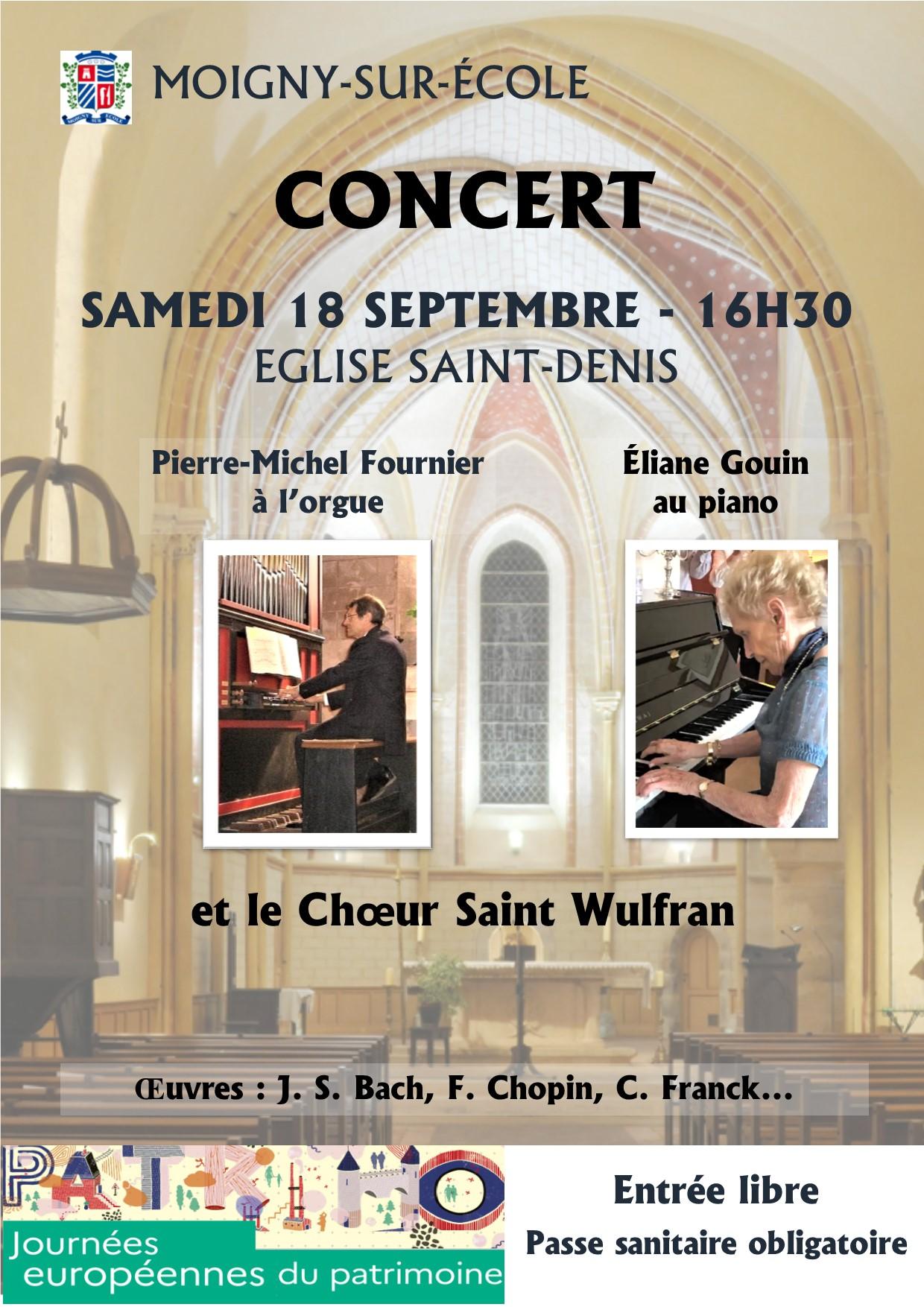 Affiche concert 18 septembre 2